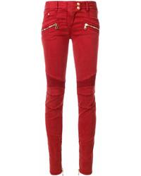 Jean skinny rouge Balmain