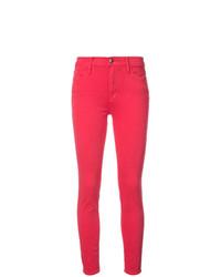 Jean skinny rouge Frame Denim