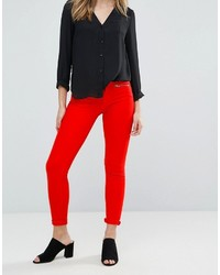 Jean skinny rouge French Connection