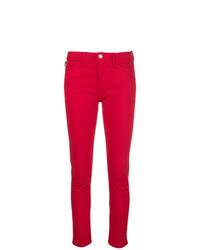 Jean skinny rouge Love Moschino