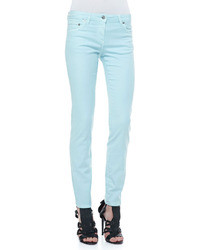 Jean skinny turquoise