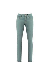 Jean skinny vert menthe Amapô