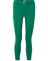 Jean skinny vert L'Agence