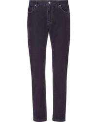 Jean skinny violet Fendi