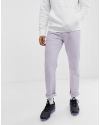 Jean violet clair