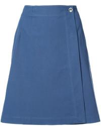 Jupe bleue A.P.C.