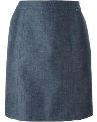 Jupe bleue Chanel