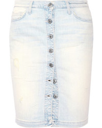 Jupe boutonnee en denim original 11337016