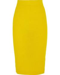 Jupe crayon jaune J.Crew