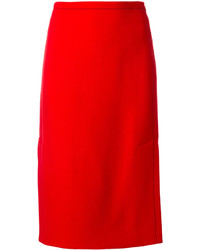 Jupe crayon rouge Marni