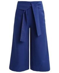 Jupe-culotte bleue marine KIOMI