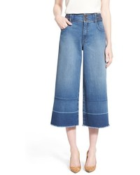 Jupe culotte bleue original 9904308