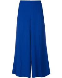 Jupe-culotte bleue Salvatore Ferragamo