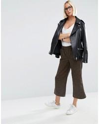 Jupe-culotte brune foncée Asos