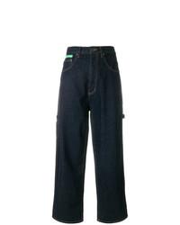 Jupe-culotte en denim bleu marine Marc Jacobs