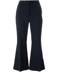 Jupe-culotte en laine bleue marine Stella McCartney