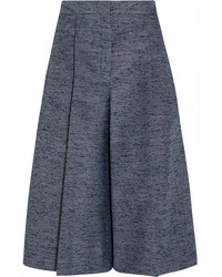 Jupe-culotte grise foncée Stella McCartney
