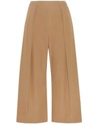 Jupe-culotte marron