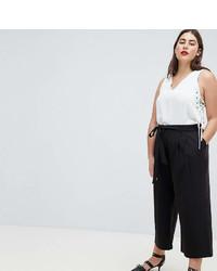 Jupe-culotte noire Asos
