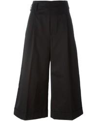 Jupe-culotte noire Golden Goose Deluxe Brand