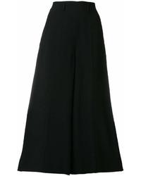 Jupe-culotte noire Lanvin