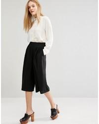 Jupe-culotte noire Mango