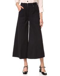 Jupe-culotte noire Marc Jacobs