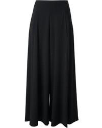 Jupe-culotte noire Moschino