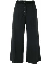 Jupe-culotte noire Proenza Schouler