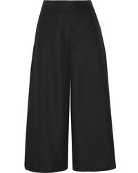 Jupe-culotte noire Valentino