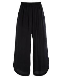 Jupe-culotte noire Weekday