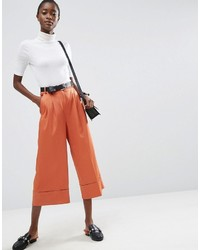 Jupe-culotte rouge Asos