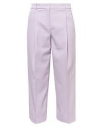 Jupe-culotte violette claire Jil Sander Navy