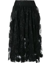 Jupe de tulle noire Simone Rocha