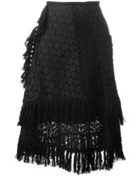 Jupe en crochet noire See by Chloe