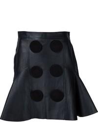 Jupe en cuir noire Givenchy