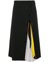 Jupe en laine noire Emilio Pucci