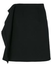 Jupe en laine noire MM6 MAISON MARGIELA