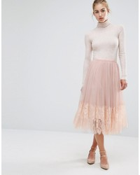 Jupe en tulle rose Miss Selfridge