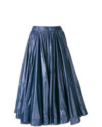 Jupe évasée bleu marine Calvin Klein 205W39nyc