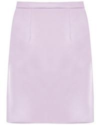 Jupe évasée violet clair Miu Miu