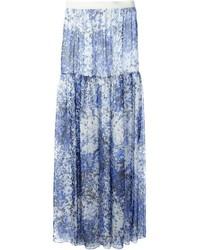 Jupe longue bleu clair