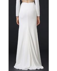 Jupe longue fendue blanche, €807 | | Lookastic