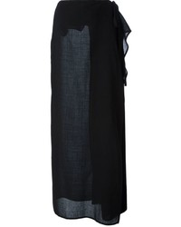 Jupe longue noire Gianfranco Ferre
