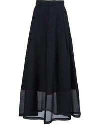 Jupe longue noire MM6 MAISON MARGIELA