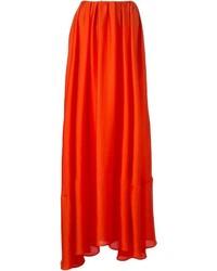 Jupe longue orange A.F.Vandevorst