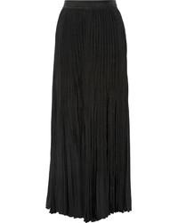 Jupe longue plissée noire Joseph