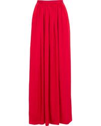 Jupe longue rouge Needle & Thread