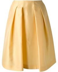 Jupe mi longue jaune original 1472811