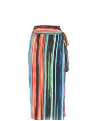 Jupe mi-longue multicolore Lygia & Nanny